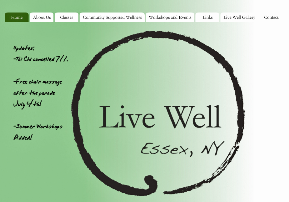 Live Well in Essex, New York