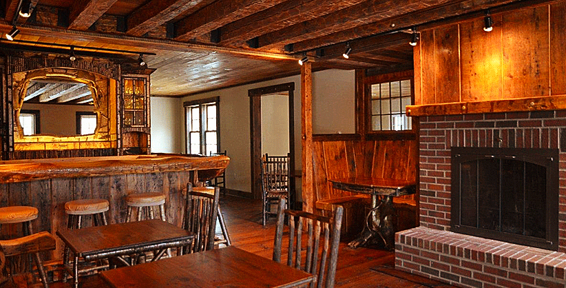 Delevan's Tavern at the Essex Inn on the Adirondack Coast in Essex, New York
