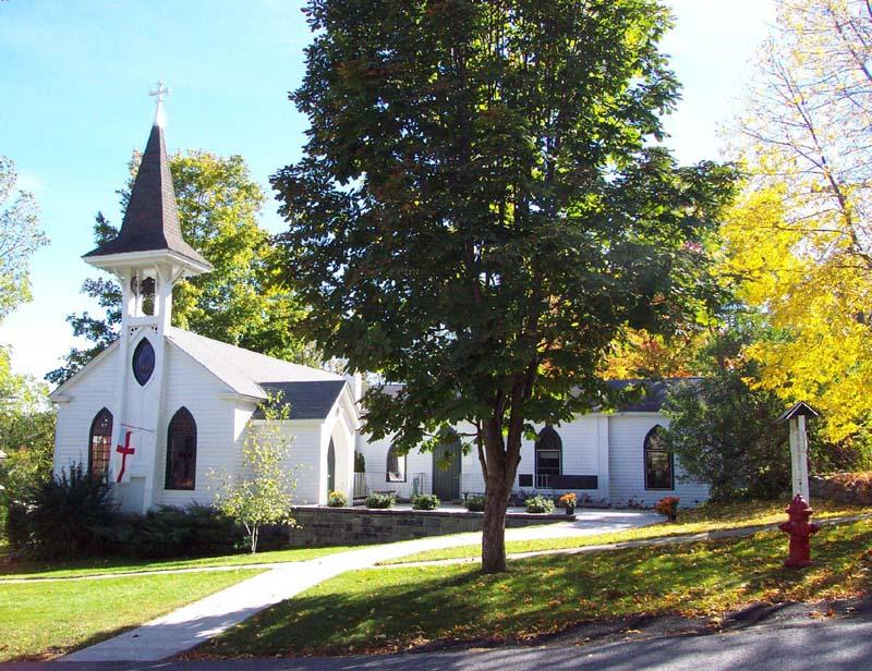 St. John's Episcopal Church in Essex, NY