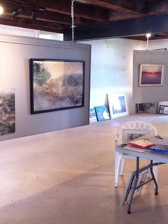 Inside the Adirondack Art Association!