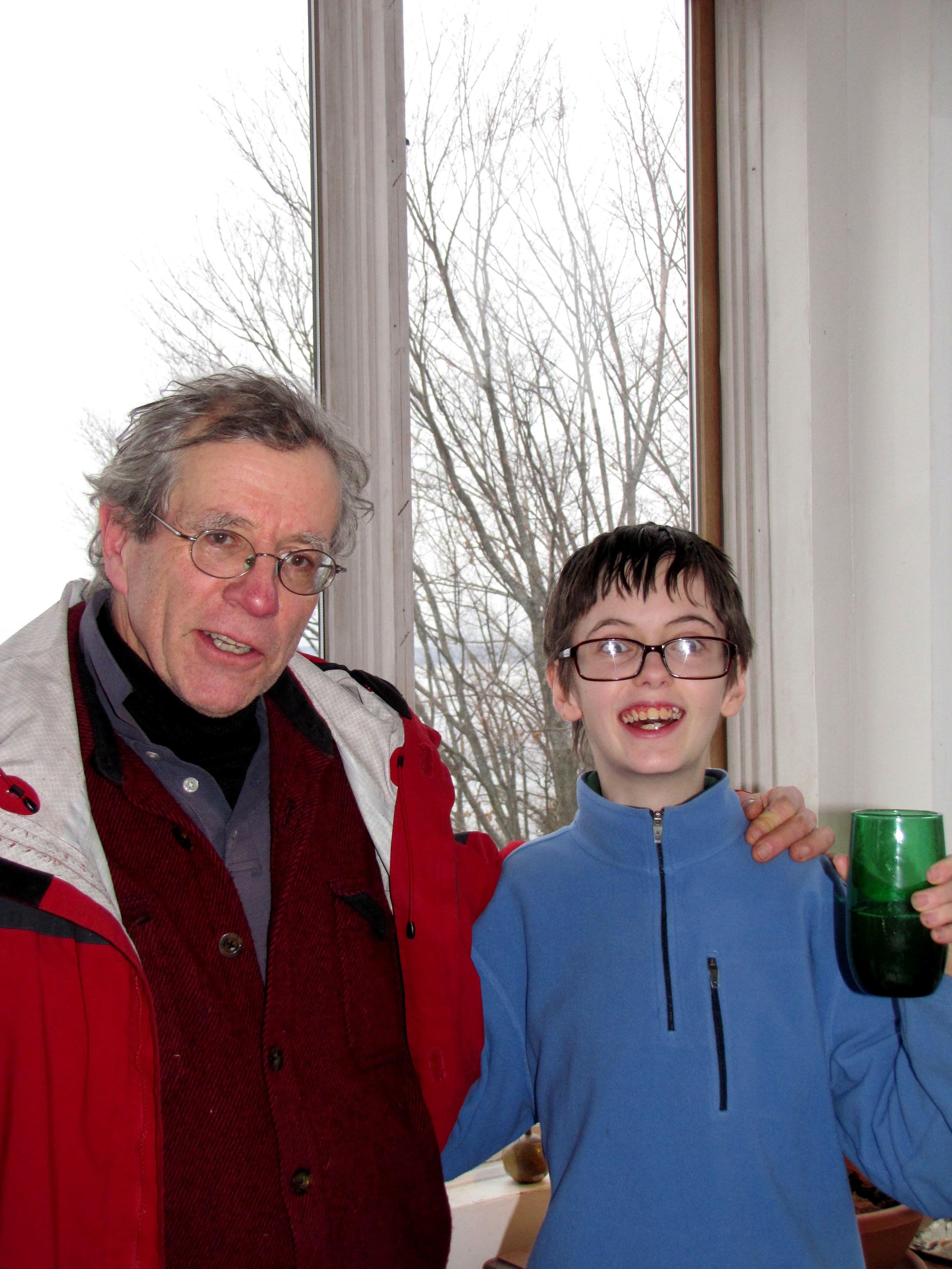 David Thomas Train and Peter Hartwell