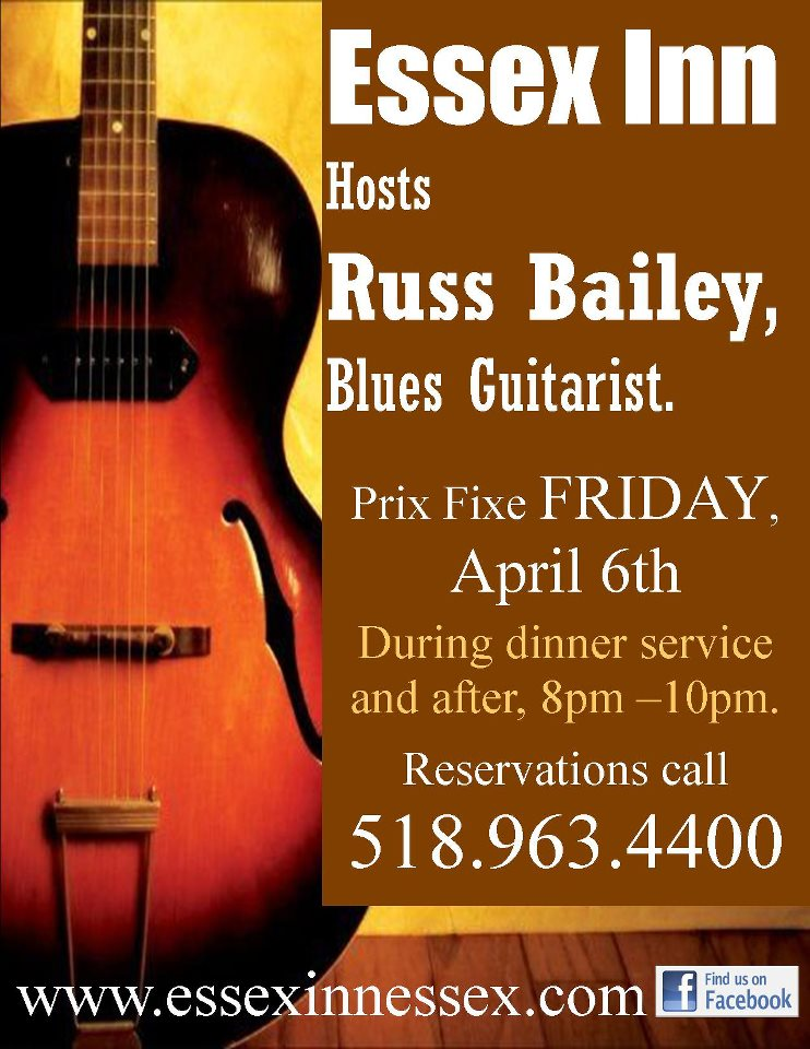 Russ Bailey at the Essex Inn