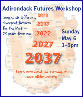 Adirondack Futures Workshop map