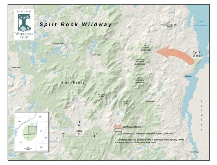 Split Rock Mountain Wildway