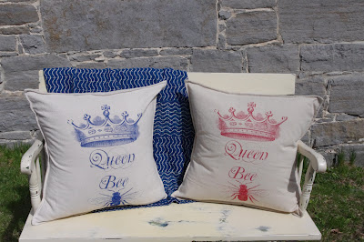 Queen Bee Pillow (image courtesy of Pink Pig)