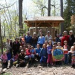 May Day at Lakeside School in Essex, New York