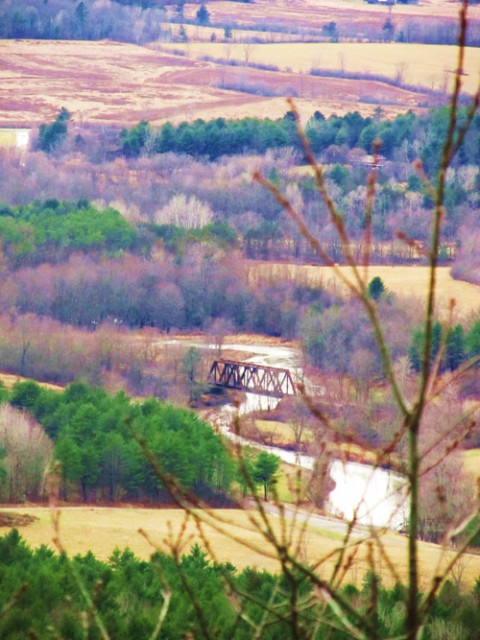 Overlooking the Bridge from Coon Mountain