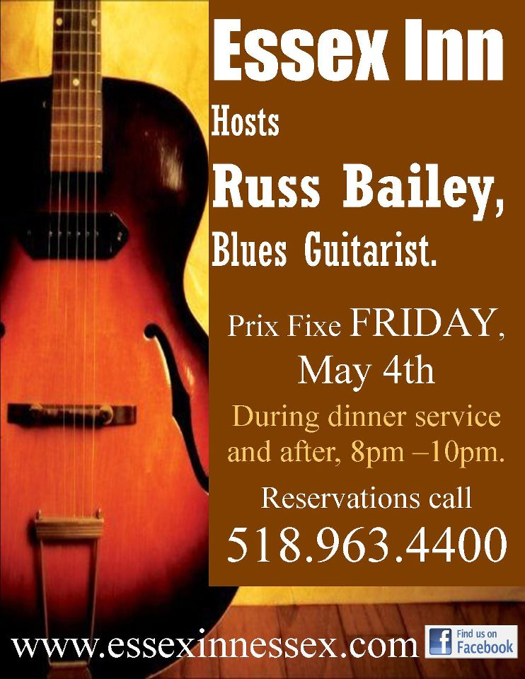 Russ Bailey at Essex Inn