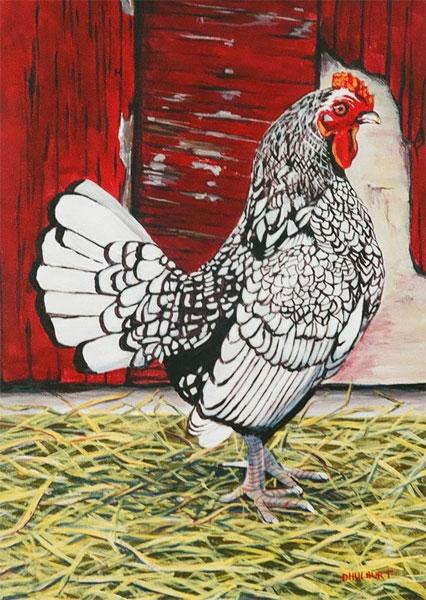Painting by Diane Hulburt