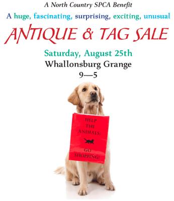 NCSPCA antique & tag sale