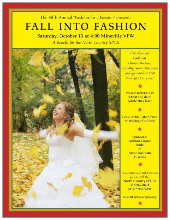 North County SPCA fall fashion show