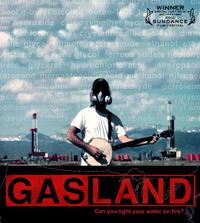 Gasland poster (Courtesy of Whallonsburg Grange)