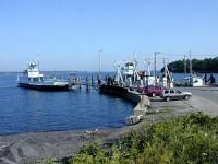 Essex-Charlotte ferry crossing, Charlotte dock.