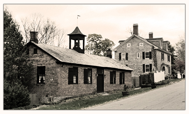 Adirondack Mountain Creams factory at the Old Brick Schoolhouse in Essex, New York