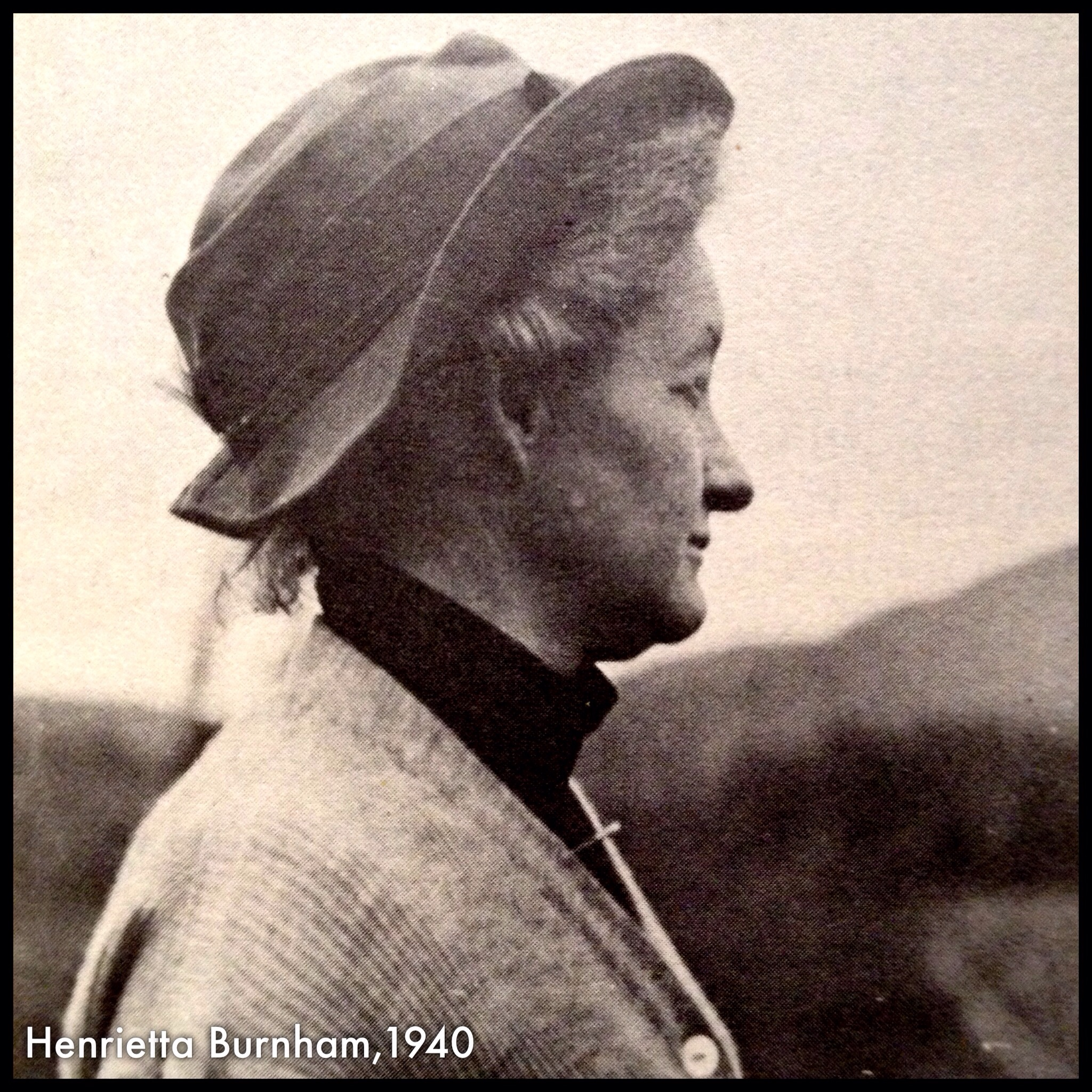 Henrietta Burnham, 1940