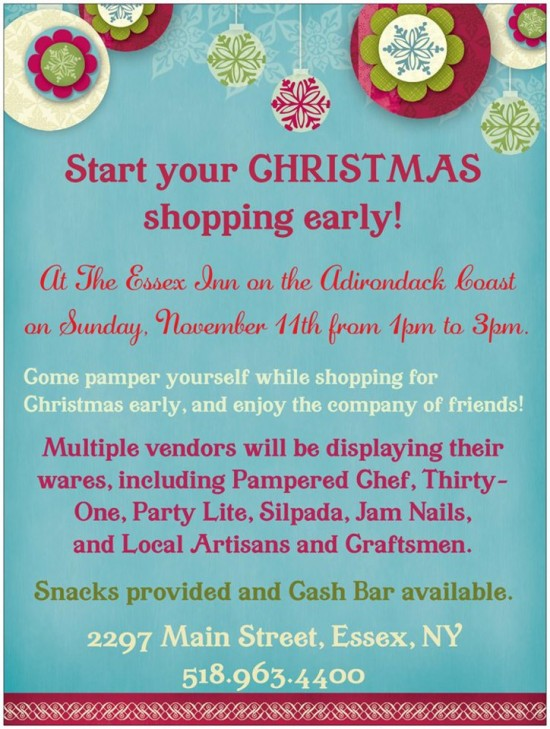 Essex Inn Christmas Market