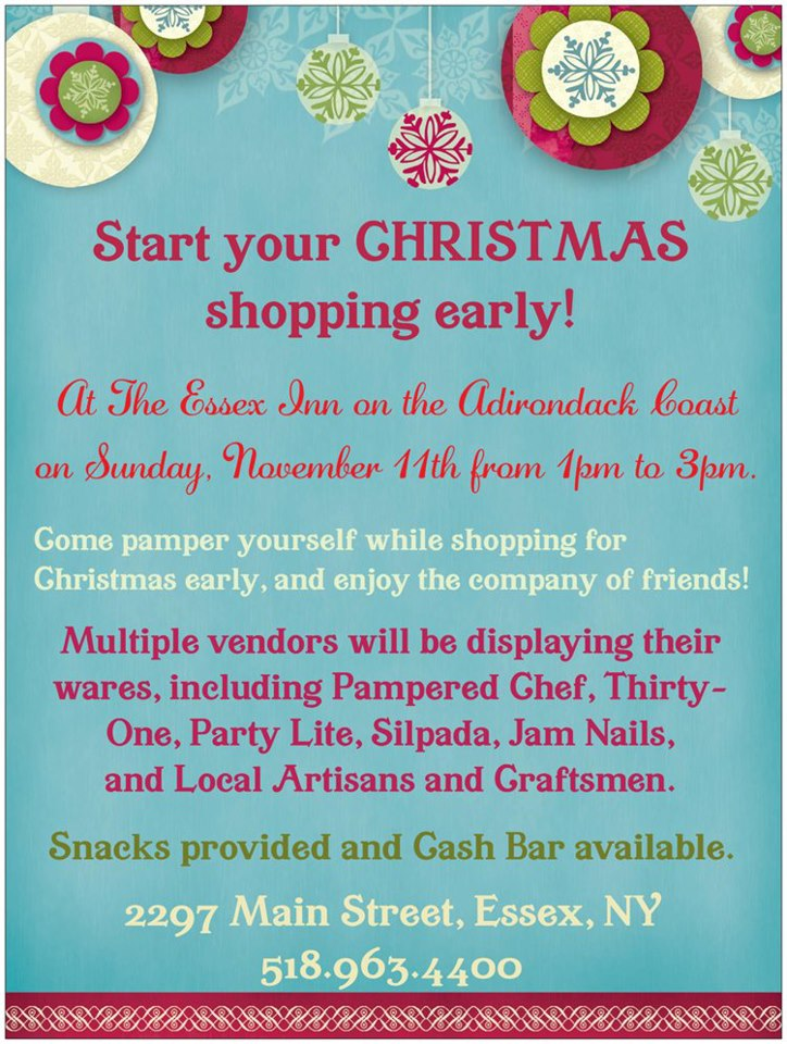 Christmas Market at Essex Inn