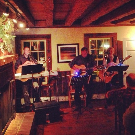 Local musicians, Musical Flashback, including Ben Bright, Donald Vicaro, Essex resident Donna Sonnet perform at the Essex Inn.
