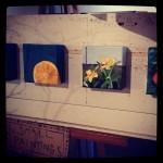 Miniature paintings by Julie Warren