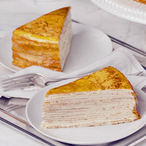 Mille Crêpes from Lady M