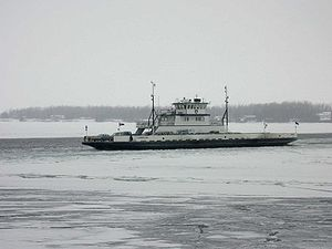 Essex-Charlotte Ferry Closed Today, January 3, 2014
