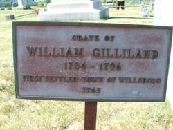 Gilliland's grave
