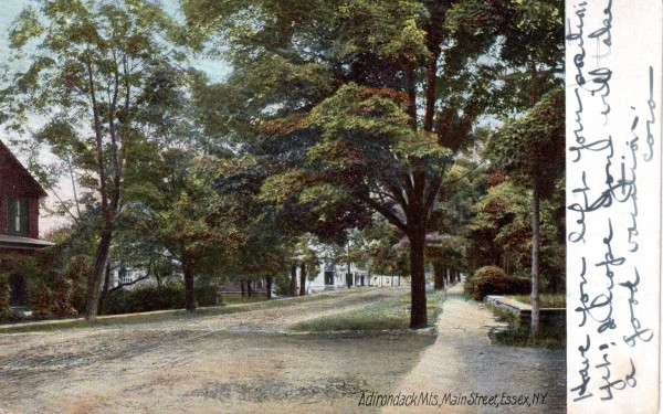Main Street, Essex, NY (Postcard)