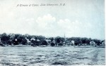 View of Essex, NY, from out on Lake Champlain (Postcard)