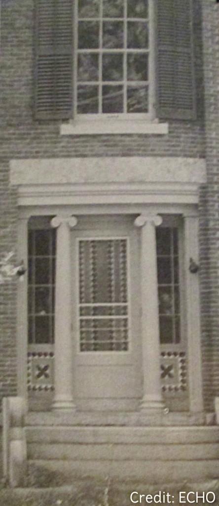 Cyrus Stafford House entrance