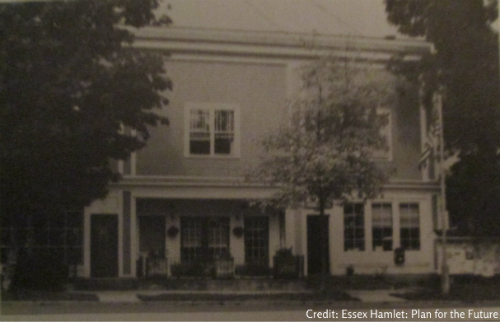 Van Ornam Building, Essex, NY (Image Credit: Essex Hamlet: Plan for the Future. Aug. 1989. 7)