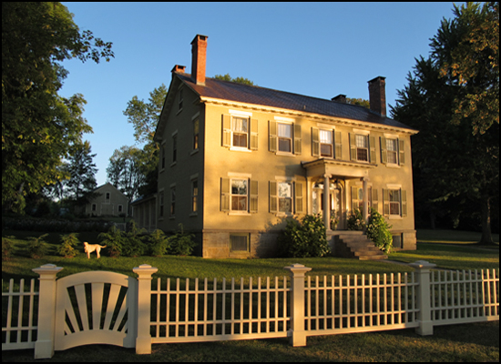 Rosslyn, the second oldest home on Essex, New York's Merchant Row