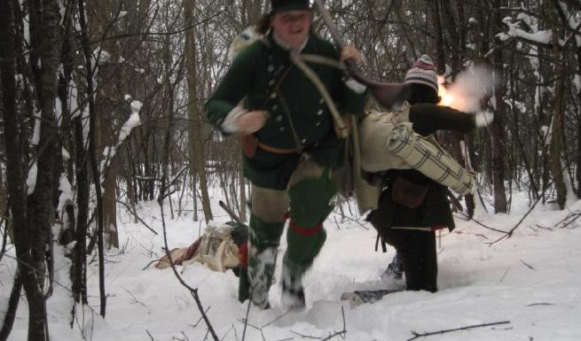 Fort Ticonderoga's Battle on Snowshoes Re-enactment