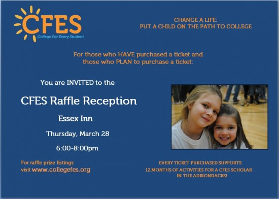 CFES Raffle Reception