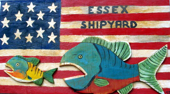 Essex Shipyard sign