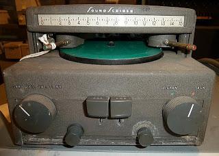 1950s Sound Scriber
