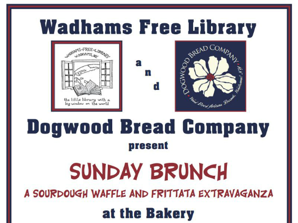 Wadhams brunch for the library
