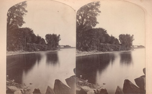 stereoview of an Essex bay
