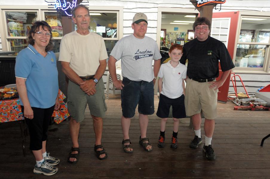 2013 Rotary Club Fishing Tournament Winners