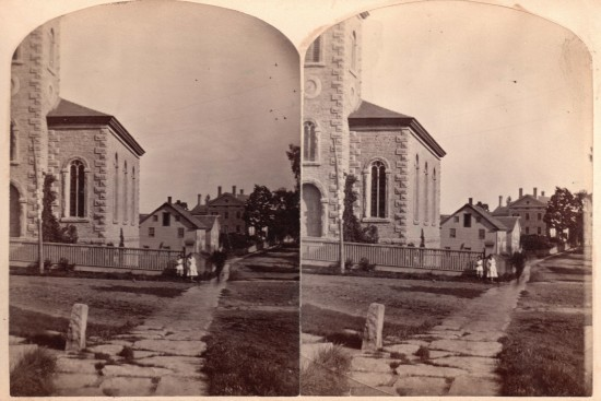 Essex Community Church (stereoview)