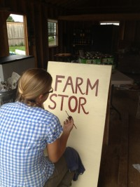 The Farm store is now open...