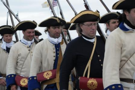 Battle of Carillon Reenactment Soldiers
