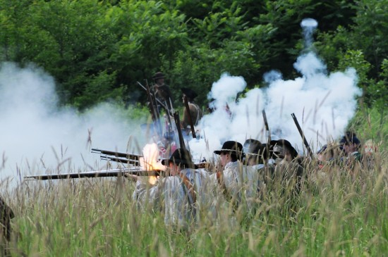 Battle of Carillon Reenactment