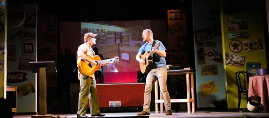"""Route 66 """"A Roadside Attraction"""" dueling guitars"""