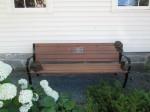 Wes Vanderhorst Memorial Bench