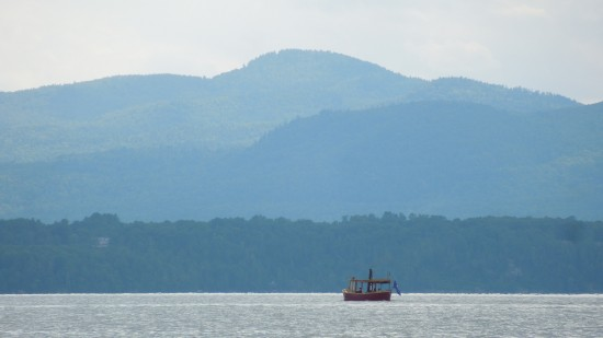Lake Champlain Steamboat photographed by Kevin Cooper