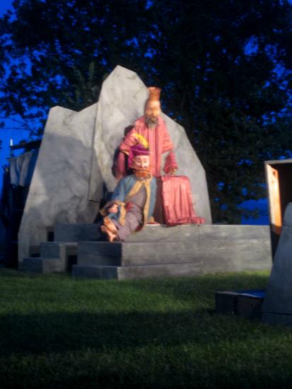 King Maelgwyn and his Bard