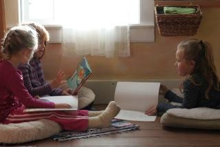 Reading at Lakeside School