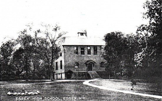Essex High School (postcard)