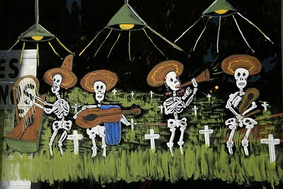 Songs and Celebration for the Day of the Dead at Whallonsburg Grange