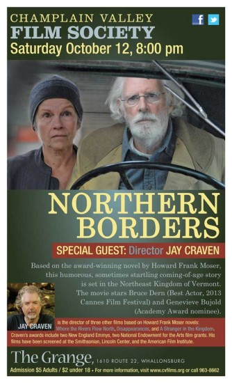 Champlain Valley Film Society presents Northern Borders